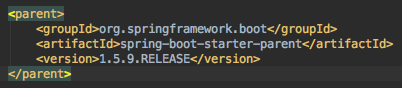 spring boot 1.5.9